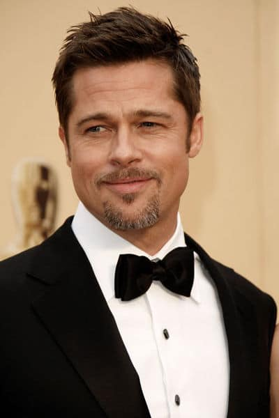 Brad Pitt Hairstyle. Mousse can be used to create any men's hairstyle,