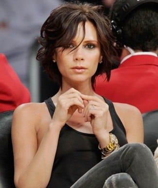 Victoria Beckham Wavy Bob. This spring Mrs. Beckham spotted a longer messy