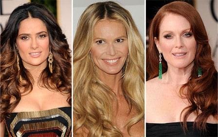 Golden Globe 2012 wavy hairdo