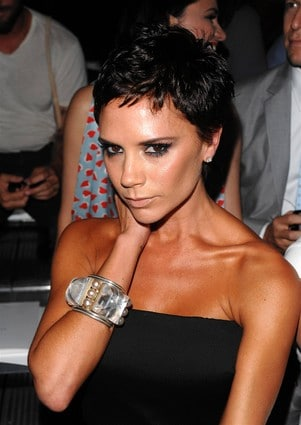 Victoria Beckham Short Pixie Cut