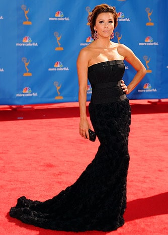 Eva Longoria-Parker' Emmy Awards 2010 Hairdo
