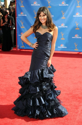 Lea Michele look at Emmy 2010
