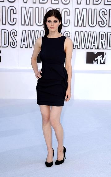 Alexandra Daddario VMA 2010 Hairstyle