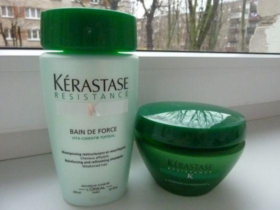Kerastase Resistance Haircare Line