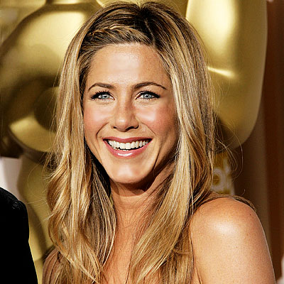 Jennifer Aniston Braided Hairdo at Oscar