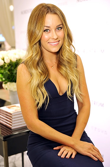 Lauren Conrad wavy honey-colored hair