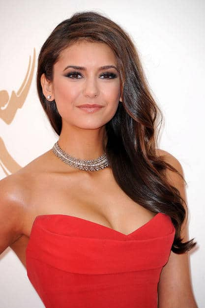 Nina Dobrev radiant hair Emmy 2011