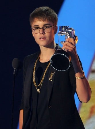 Justin Bieber Shorter Hairdo 2011