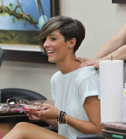 Beautiful Pixie haircuts of celebrities and their look